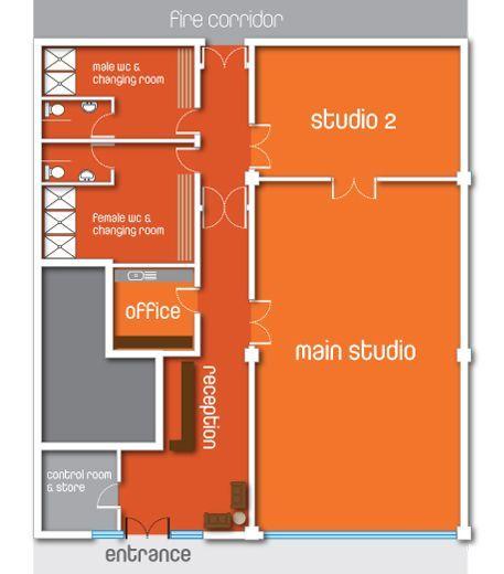 Yoga Studio Floor Plans Google Search