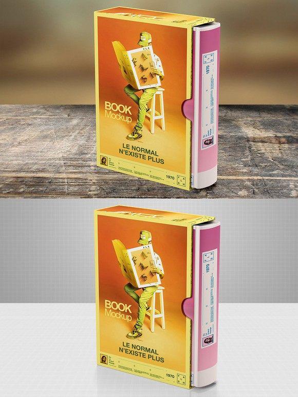 Download Photorealistic Book Mockup Box 1 Photoshop Actions 4 00 Branding Mockups Mockup Books