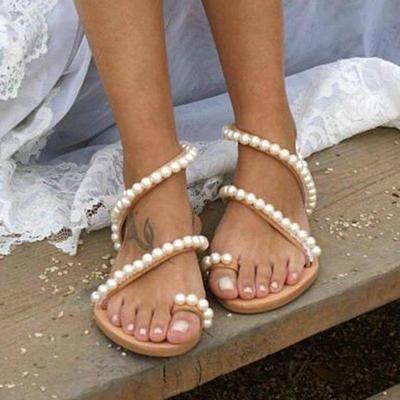 f6a1c2809817 Women PU Sandals Casual Comfort Shoes