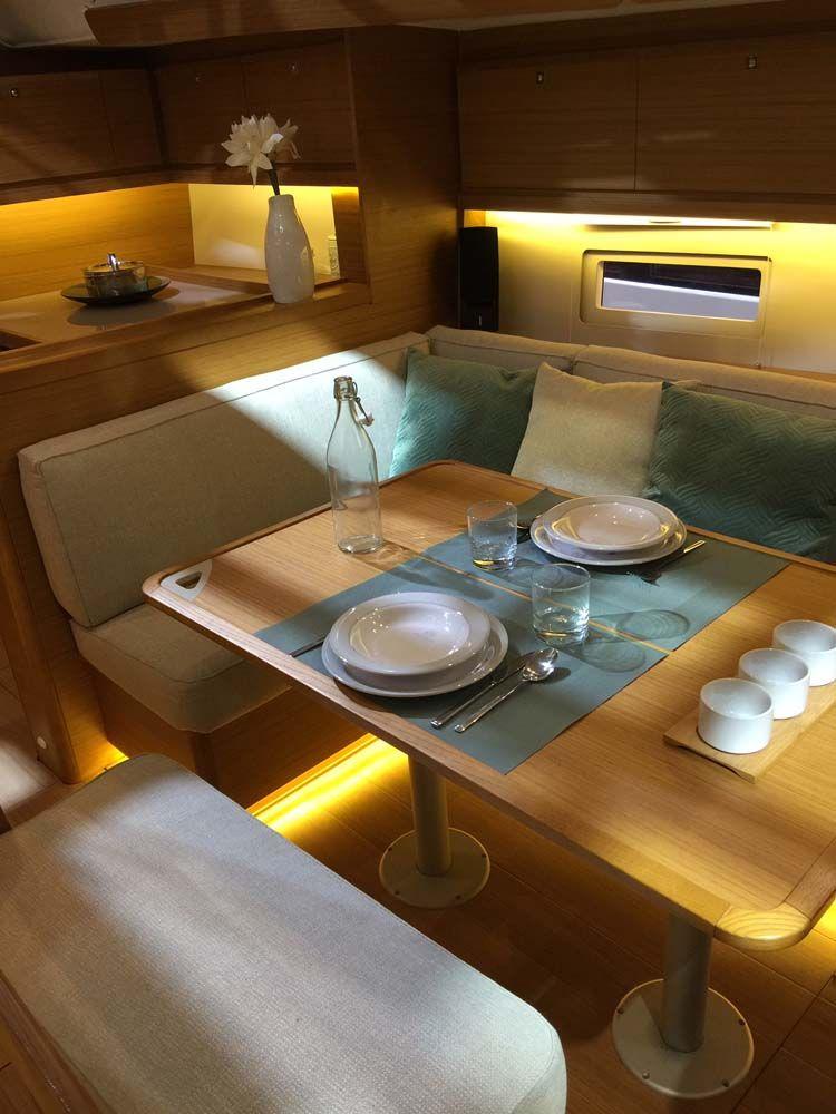 Dufour 460 Grand Large Yacht Voile Bateau Interieur Bateau