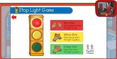 Mister Rogers Neighborhood Stoplight Game Pbs Kids Stop Light Light Games Social Skills Groups