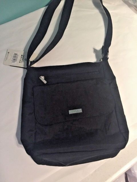 791804774 BAGGALLINI TOWN Bagg Crossbody/Shoulder/Organizer Bag/Purse in Black NEW |  eBay