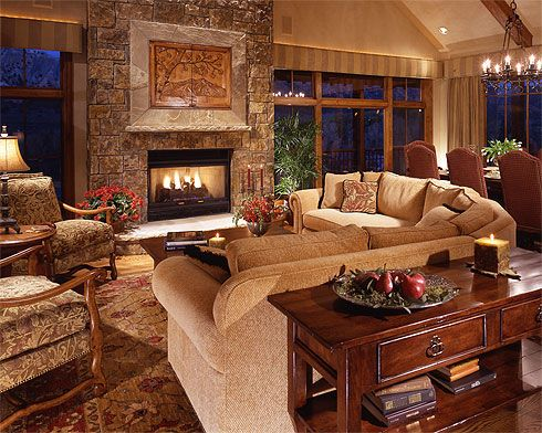 Imagine Yourself In Front Of This Cozy Fireplace... Anne Grice Interiors,  Aspen
