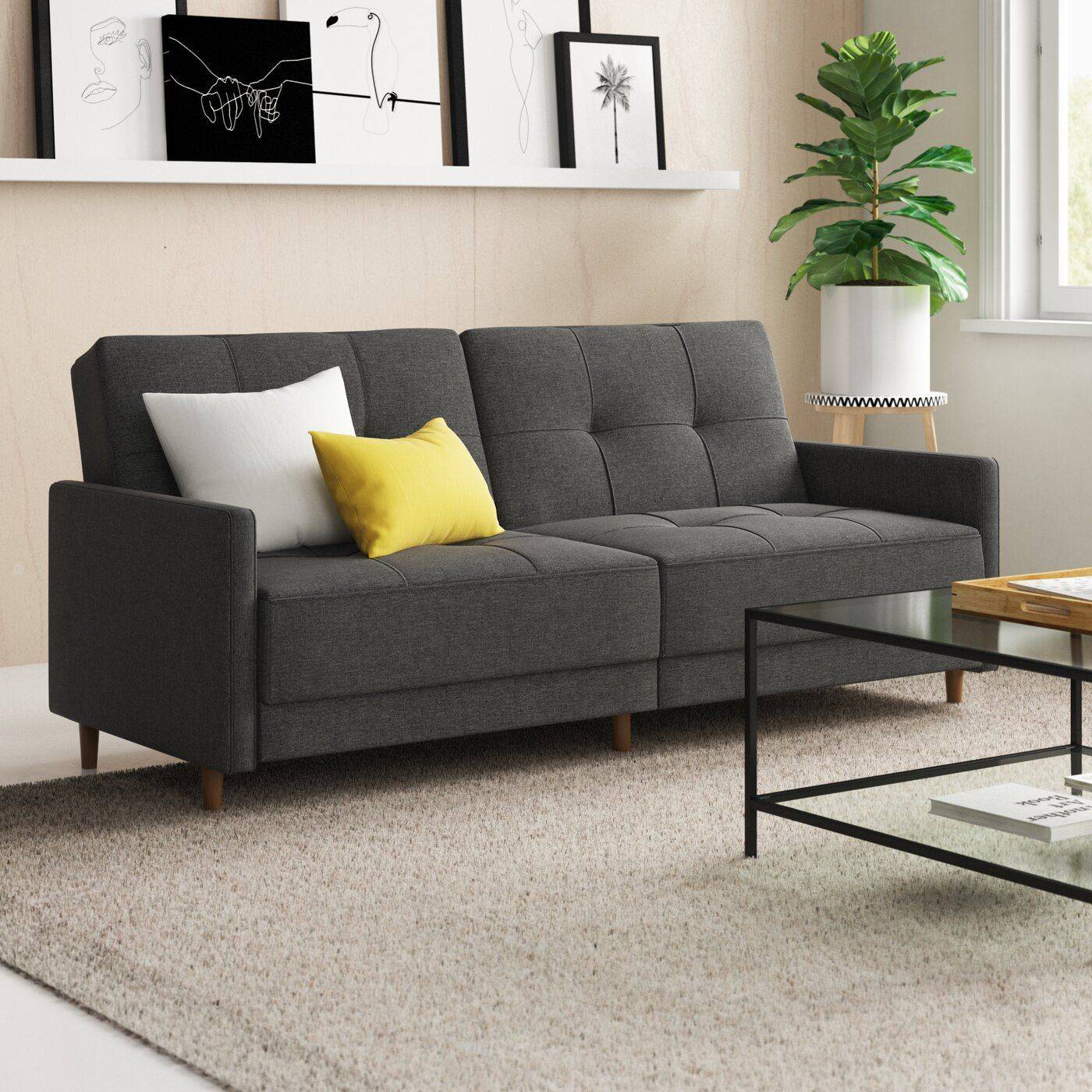Pleasing Geraldton Linen Convertible Sofa In 2019 Living Room Pdpeps Interior Chair Design Pdpepsorg