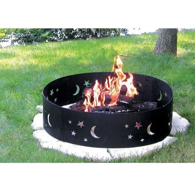 Gilbert Bennett 28 In Evening Sky Campfire Ring Steel Fire Pit