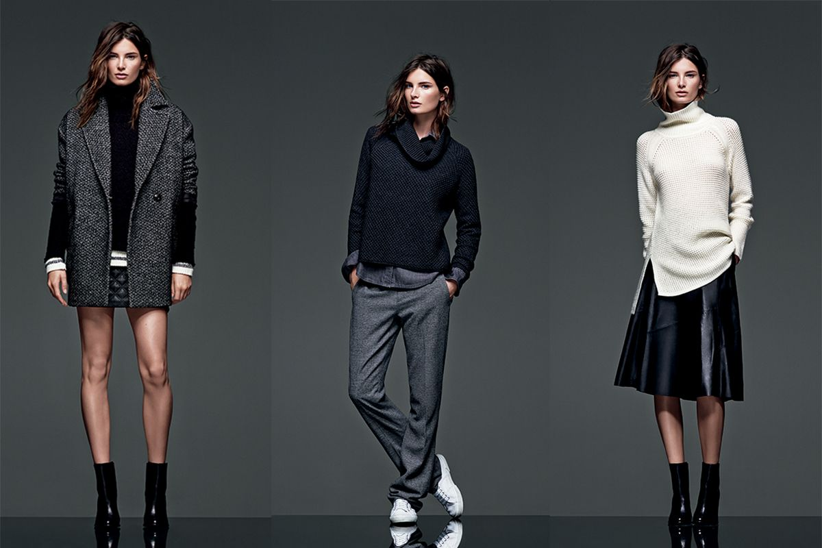 Banana Republic's Super Chic New Fall 2014 Collection - The New BR Lookbook - Elle