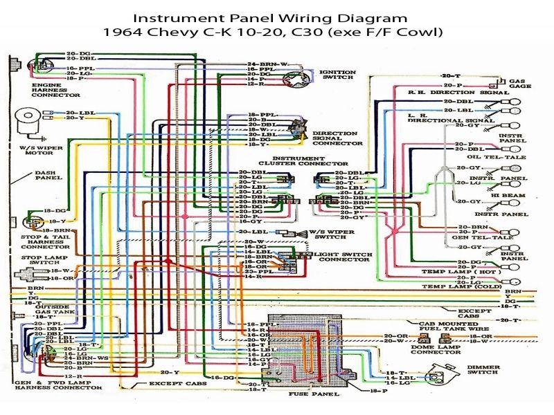 1972 Chevrolet Truck Wiring Diagram