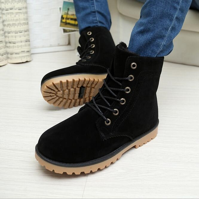 68.00$  Watch now - http://alizws.worldwells.pw/go.php?t=32736050281 - 2016 carved couple snow boots wholesale shoes for men and women in the tube warm boots lovers matte high-top boots