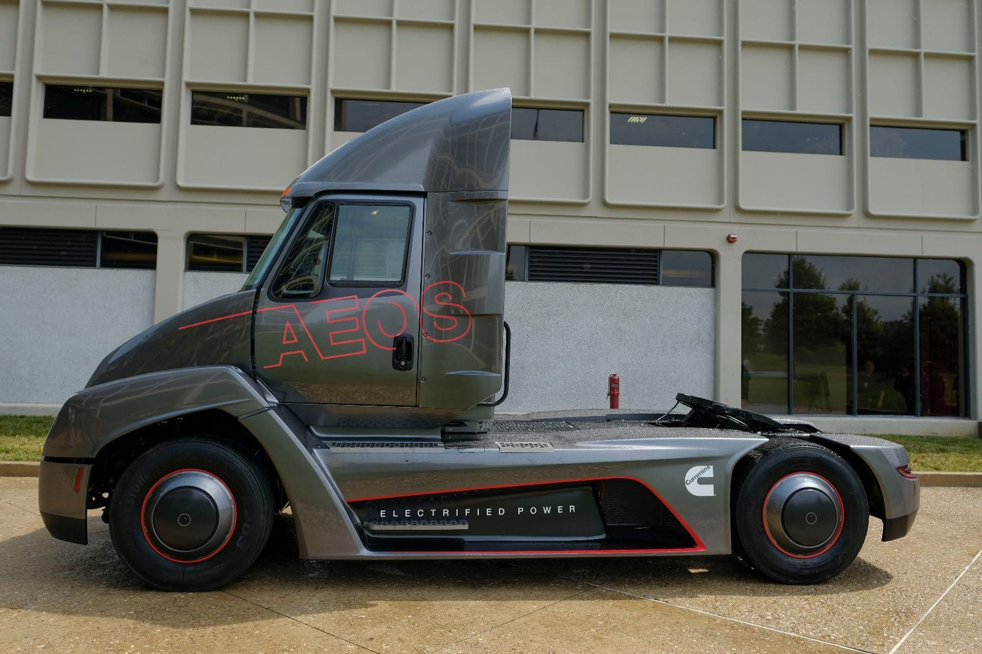 The aeos has a range of 100 mi in standard form trucks the aeos has a range of 100 mi in standard form falaconquin