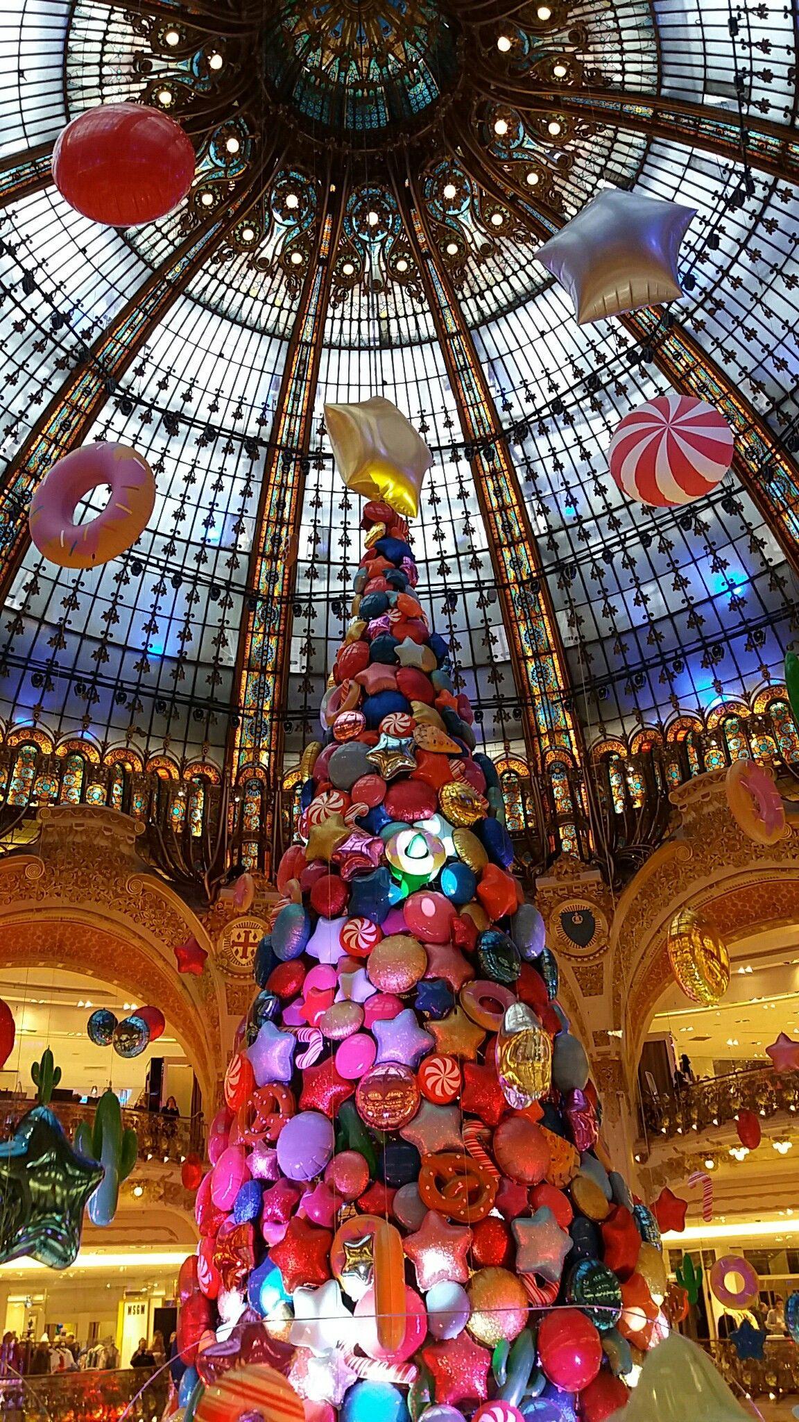Paris Galeries Lafayette 2017 Christmas Backdrops Lafayette Paris Christmas Pictures