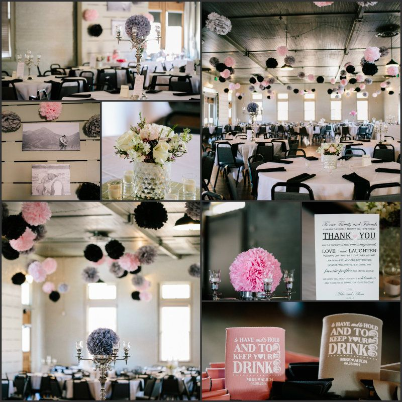 Uniquely You Planning Presents a Pom Pom Chic Wedding Reception