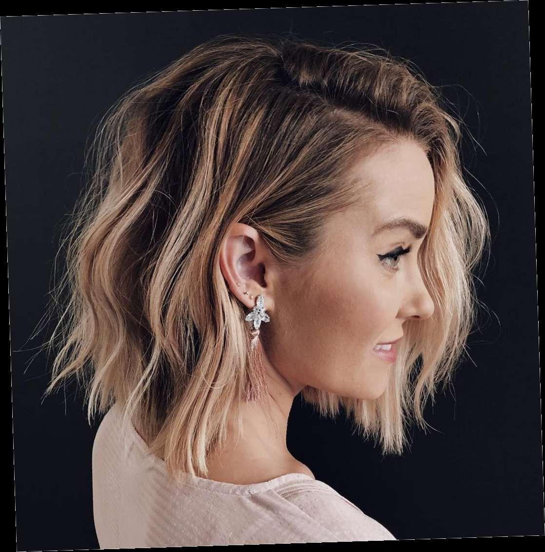 38 Bob Kapsels Jagged Edge Bob Dieser Haarschnitt Wird 2020 Ein Riesen Trend In 2020 Lauren Conrad Hair Ombre Hair Blonde Hair Styles