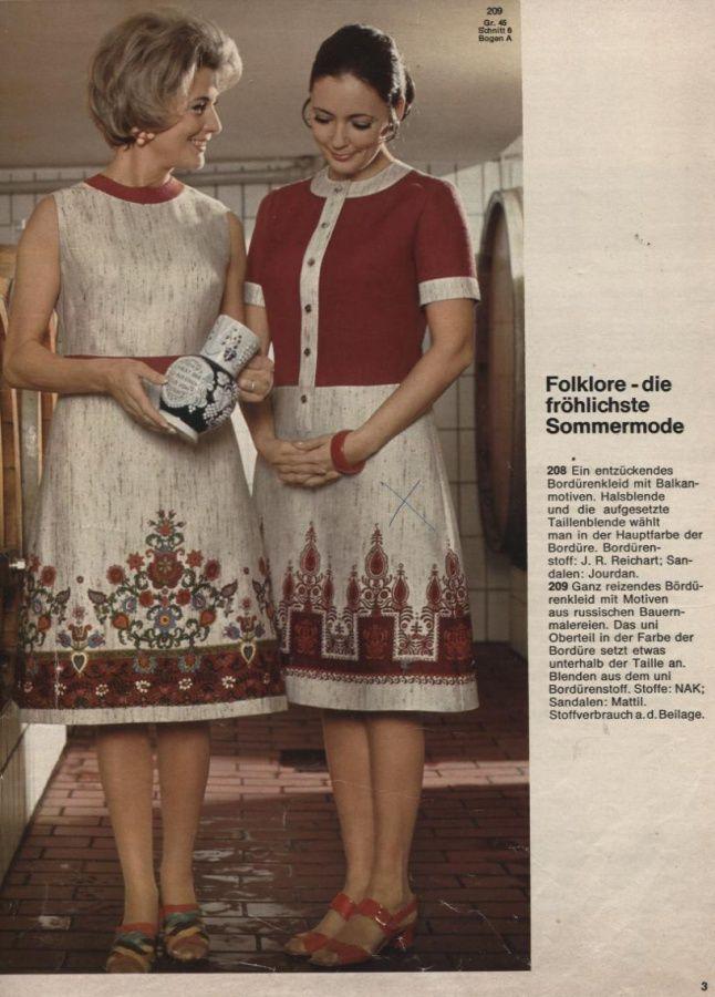 BURDA SPECIAL PLUS  Mode für Vollschlanke  1971