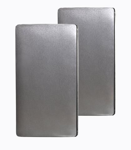 Stainless Steel Rectangular Stove Burner Covers Fits Most Ranges