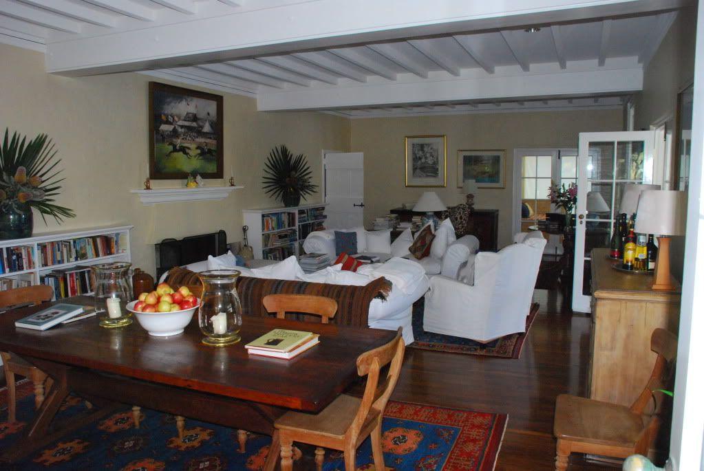 The lounge room at Tarrangaua