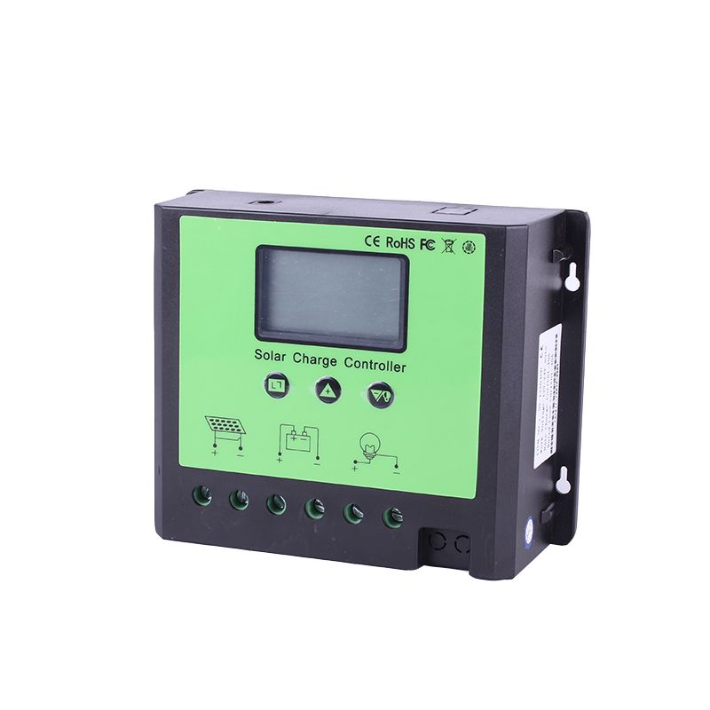 50a 12 24 48v Pwm Solar Controller Pv Panel Battery Charge Controller Solar System Home Indoor Use Solar Controller Pv Panels Battery Charge Controllers Solar