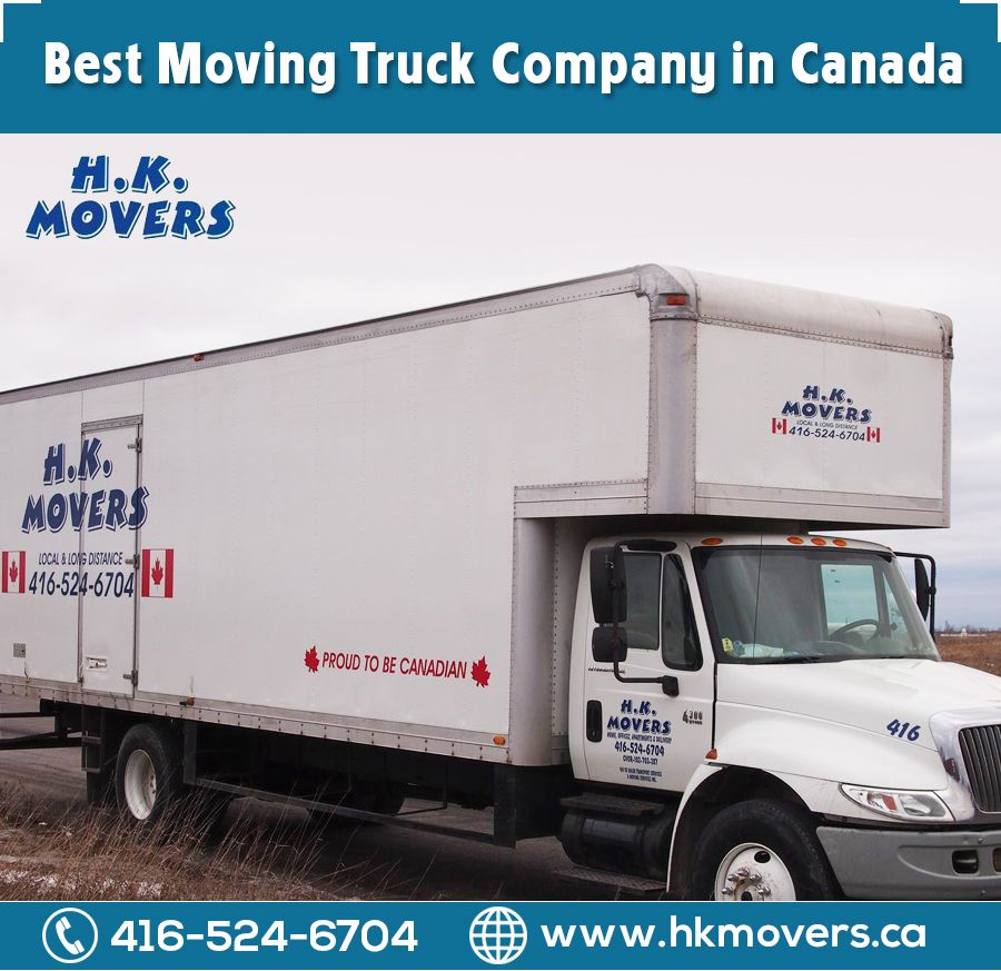 Moving Truck Companies >> H K Movers Is Local And Long Distance Moving Truck Company