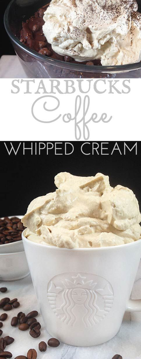 Starbucks Coffee Whipped Cream