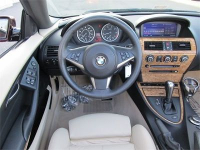 2006 Bmw 650i Convertible Barbera Red Metallic Tan Interior