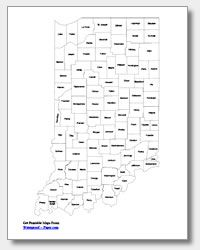 printable Indiana county map labeled | Education | Indiana map ... on free printable missouri map, free printable idaho map, free printable oregon map, free printable kansas map, free printable michigan map, free printable navy map, free printable ohio map, free printable georgia map, free printable texas map, free printable illinois map, free printable washington map, free printable arkansas map, free printable tennessee map, free printable wisconsin map, free printable hawaii map, free printable maryland map, free printable nebraska map,