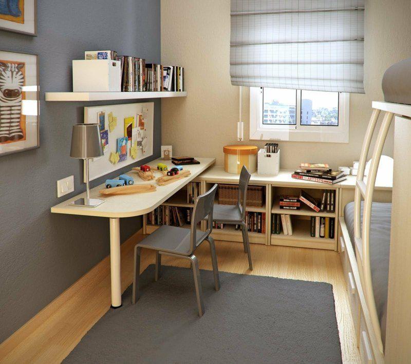 Im kleinen Kinderzimmer ein Hochbett nutzen | Einrichtung ...