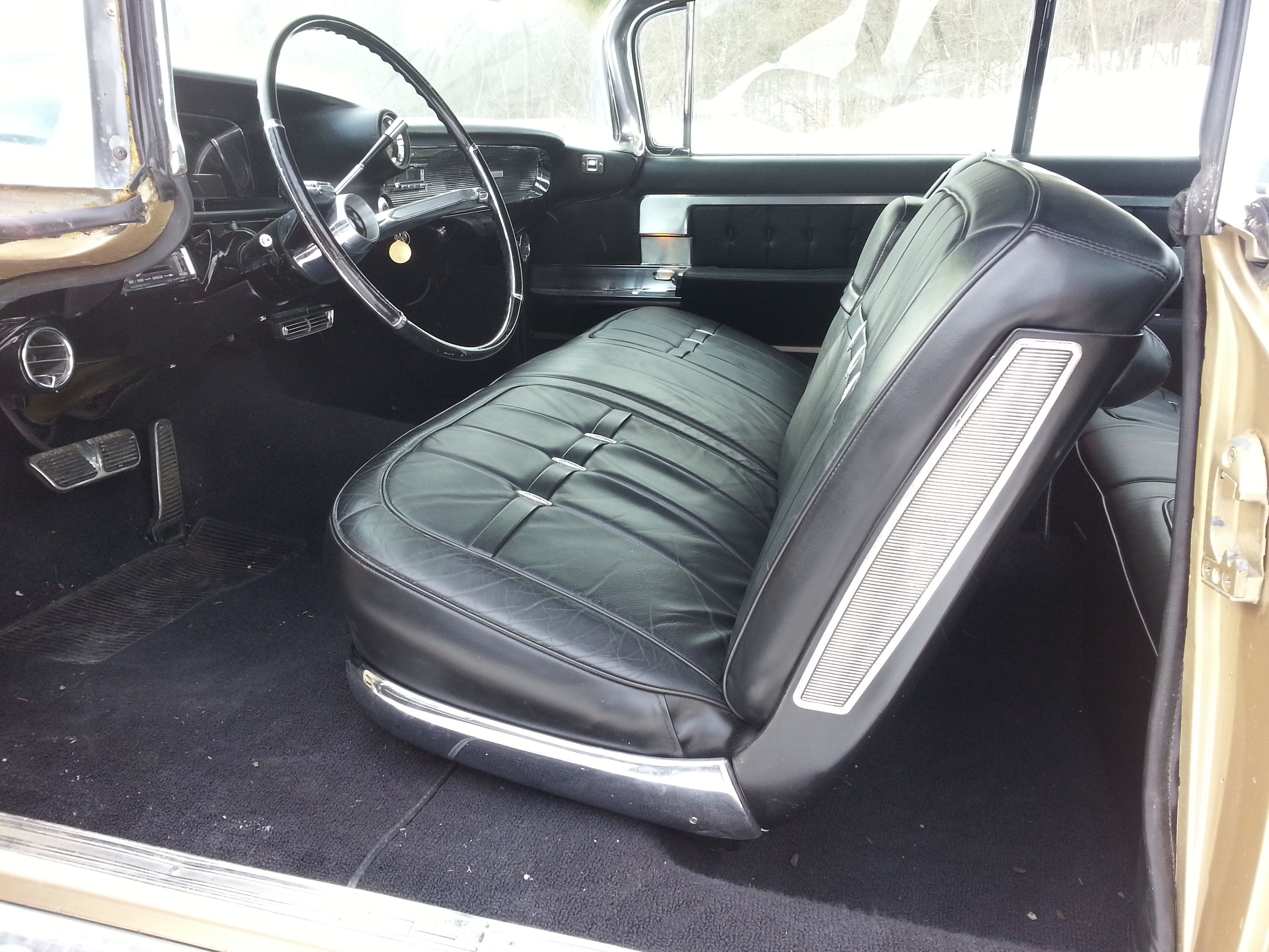 Ultra rare and highly collectible bucket seat 1960 cadillac eldorado biarritz in for some restoration
