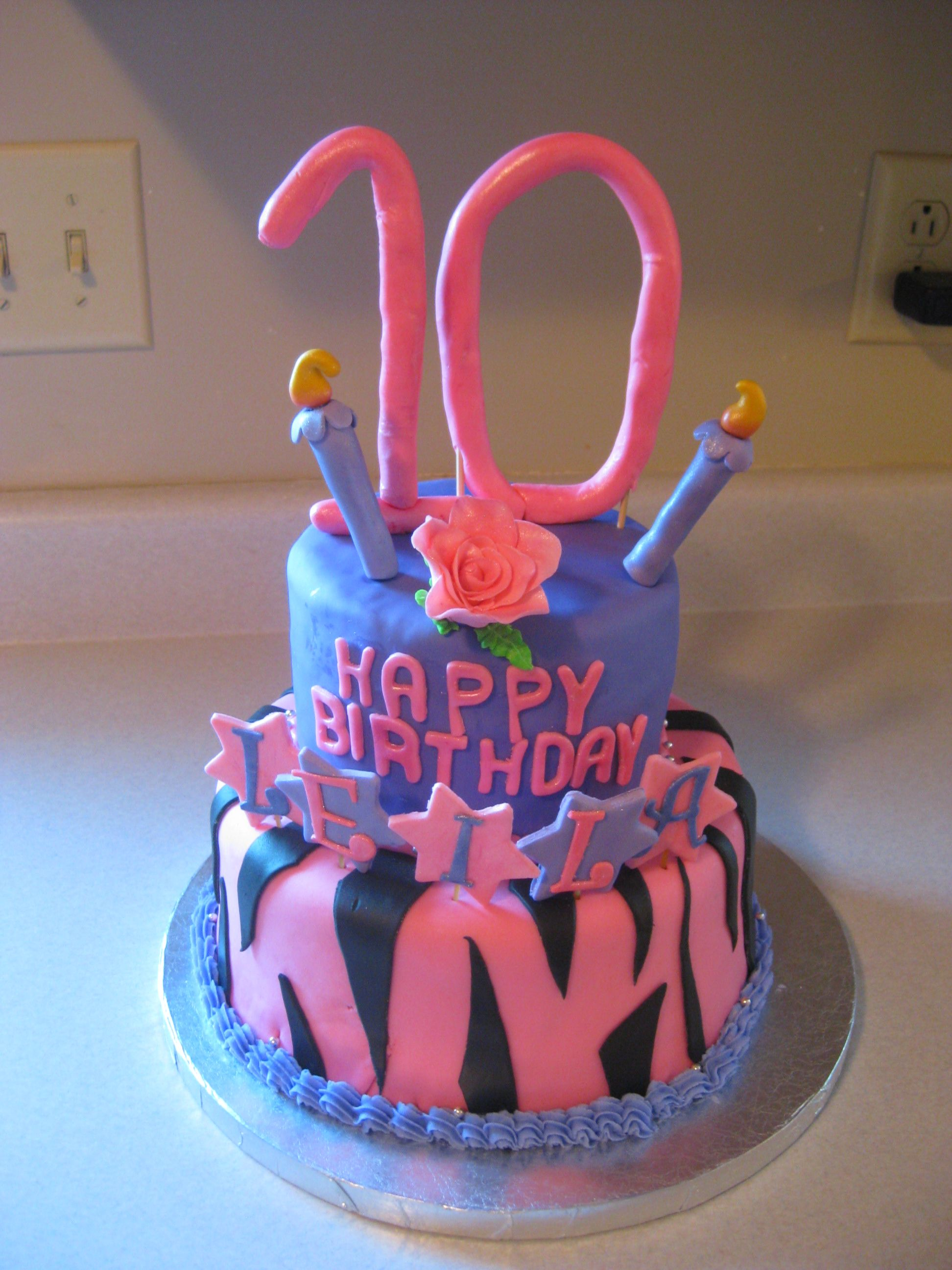 10 Year Old S Birthday Cake Types Of Birthday Cakes Cool