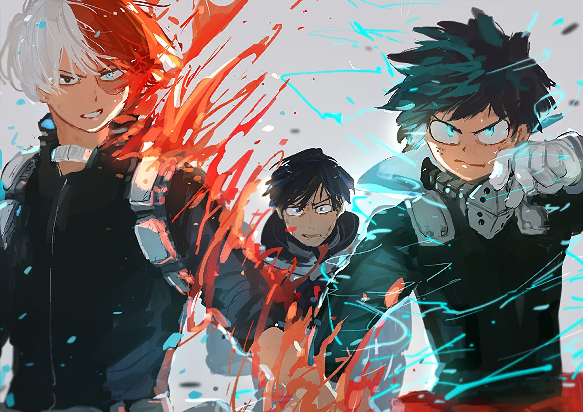 Deku Kacchan Todoroki Boku No Hero Academy Wallpapers Anime
