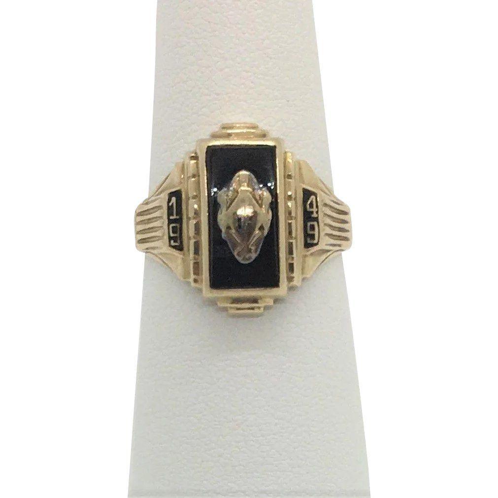 antique vintage class rings