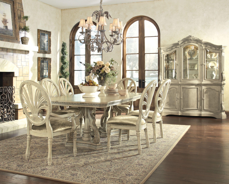 Ortanique Light Opulent Color Dining Room Set Kitchen Dining