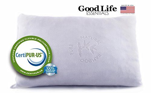 sleep better iso-cool memory foam pillow gusseted side sleeper