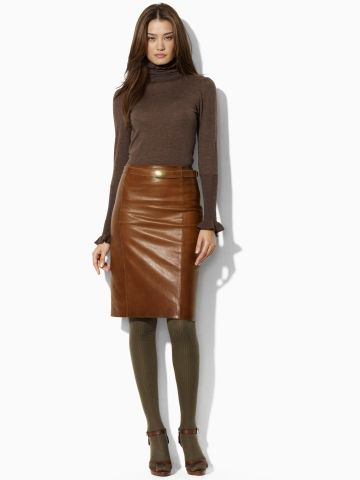 Ralph Lauren Blue Label Pembroke Skirt. What? It's only $998.