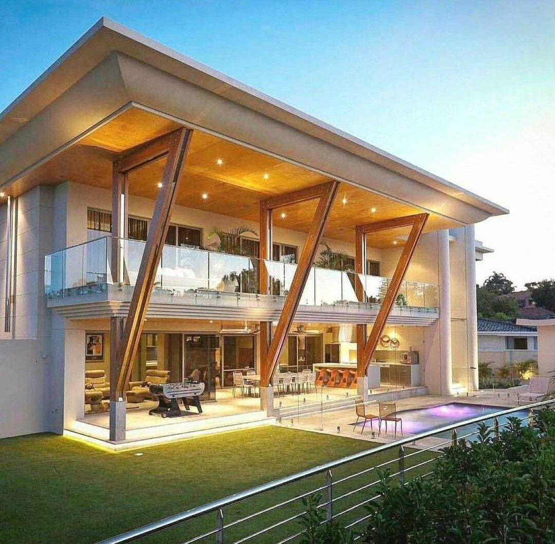 Pin von Thais Tromm auf Fachadas Residenciais / Houses | Pinterest ...