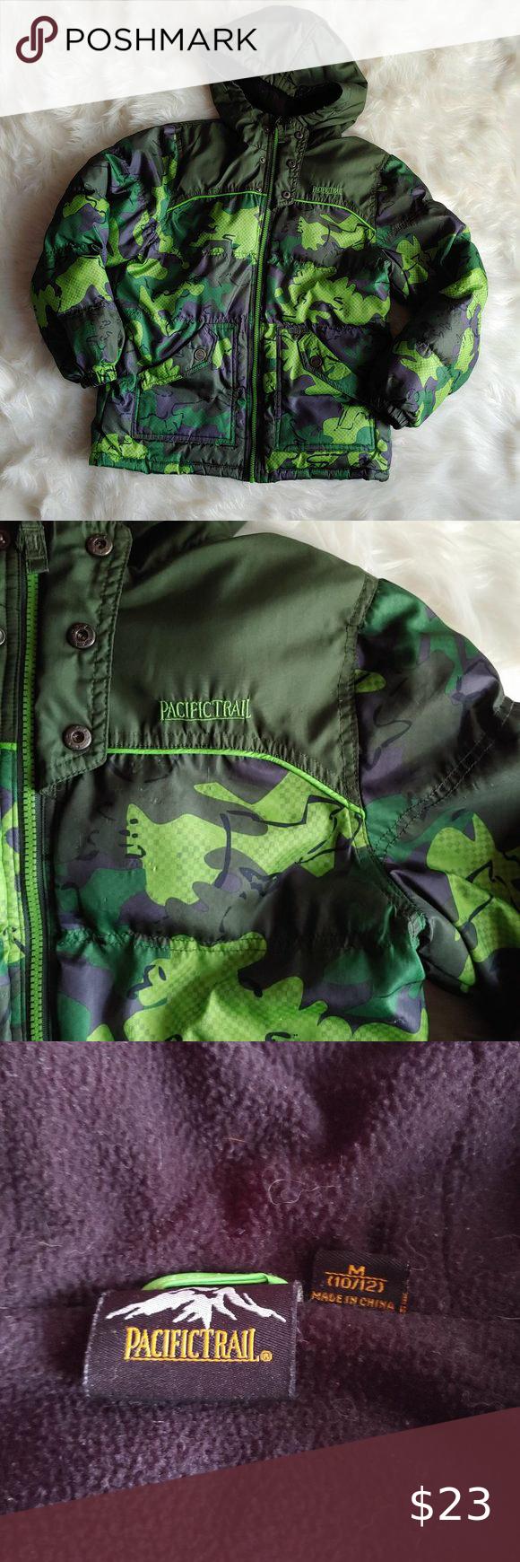 Boy S Pacific Trails Camo Puffer Jacket Camo Puffer Jacket Clothes Design Camo Colors [ 1740 x 580 Pixel ]