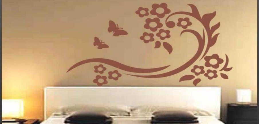 decorazione pareti camera da letto - Cerca con Google | Architettura ...