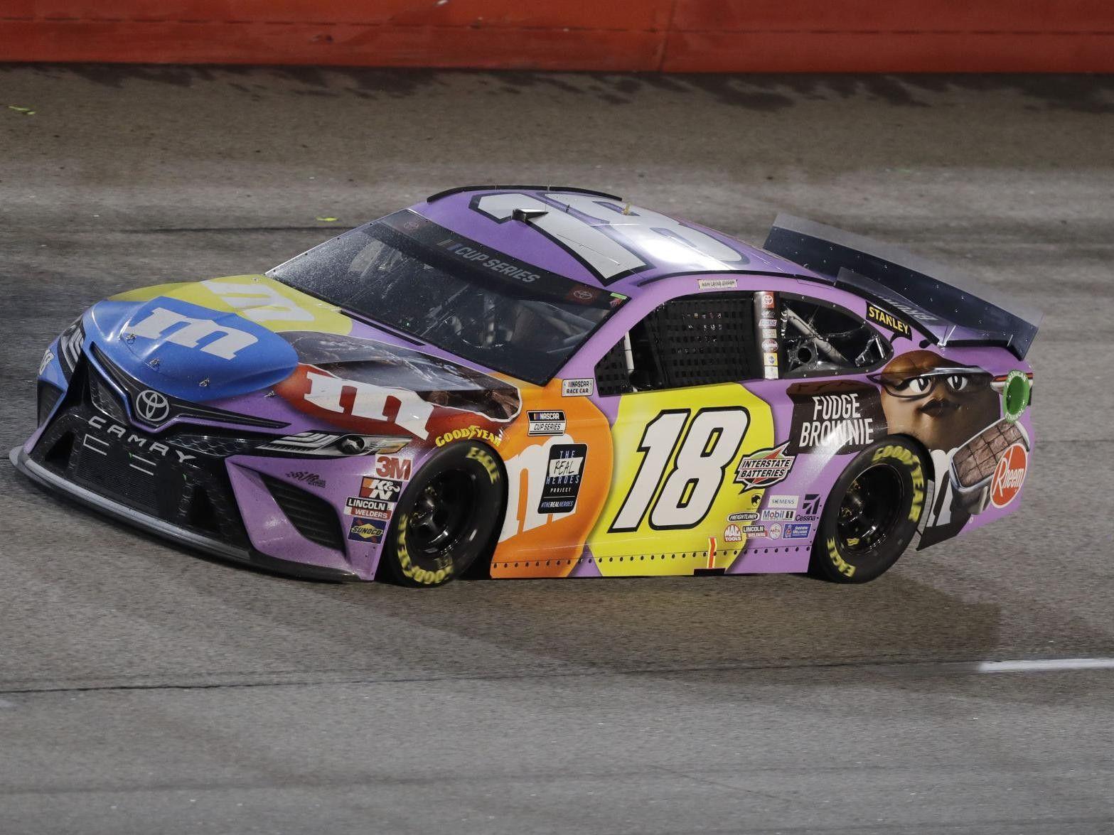 Kyle Busch 2020 Fudge Brownie M M S Car In 2020 Nascar Race Cars Nascar Cars Nascar Diecast