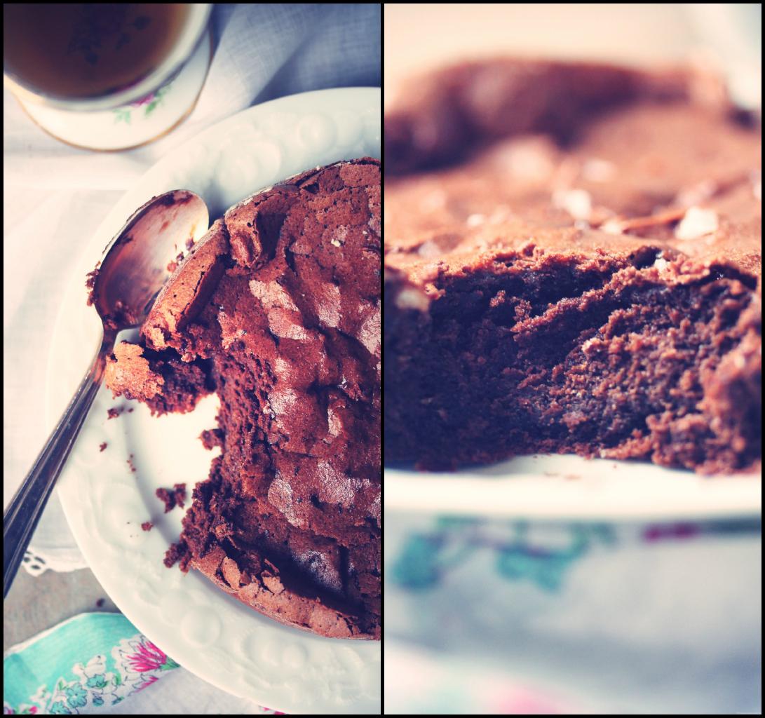 Fondant chocolat~piment d'espelette