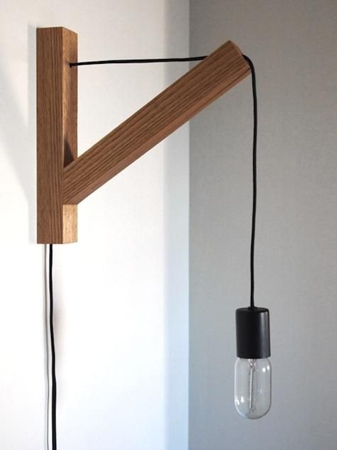 bracket wall sconce dino sanchez edison bulbs wall sconces and. Black Bedroom Furniture Sets. Home Design Ideas