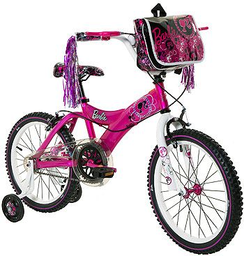 Girls 18 Inch Dynacraft Barbie Bicycle Bicycle Kids Bike Electric Scooter For Kids