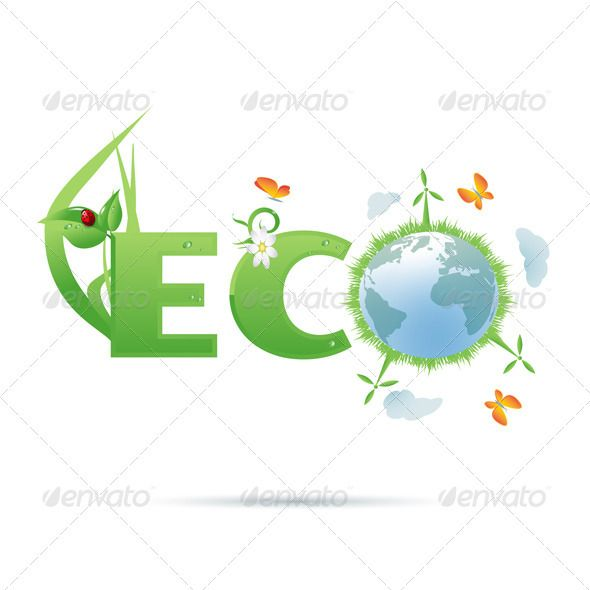 Eco-Planet Text Symbol | Text symbols and Fonts