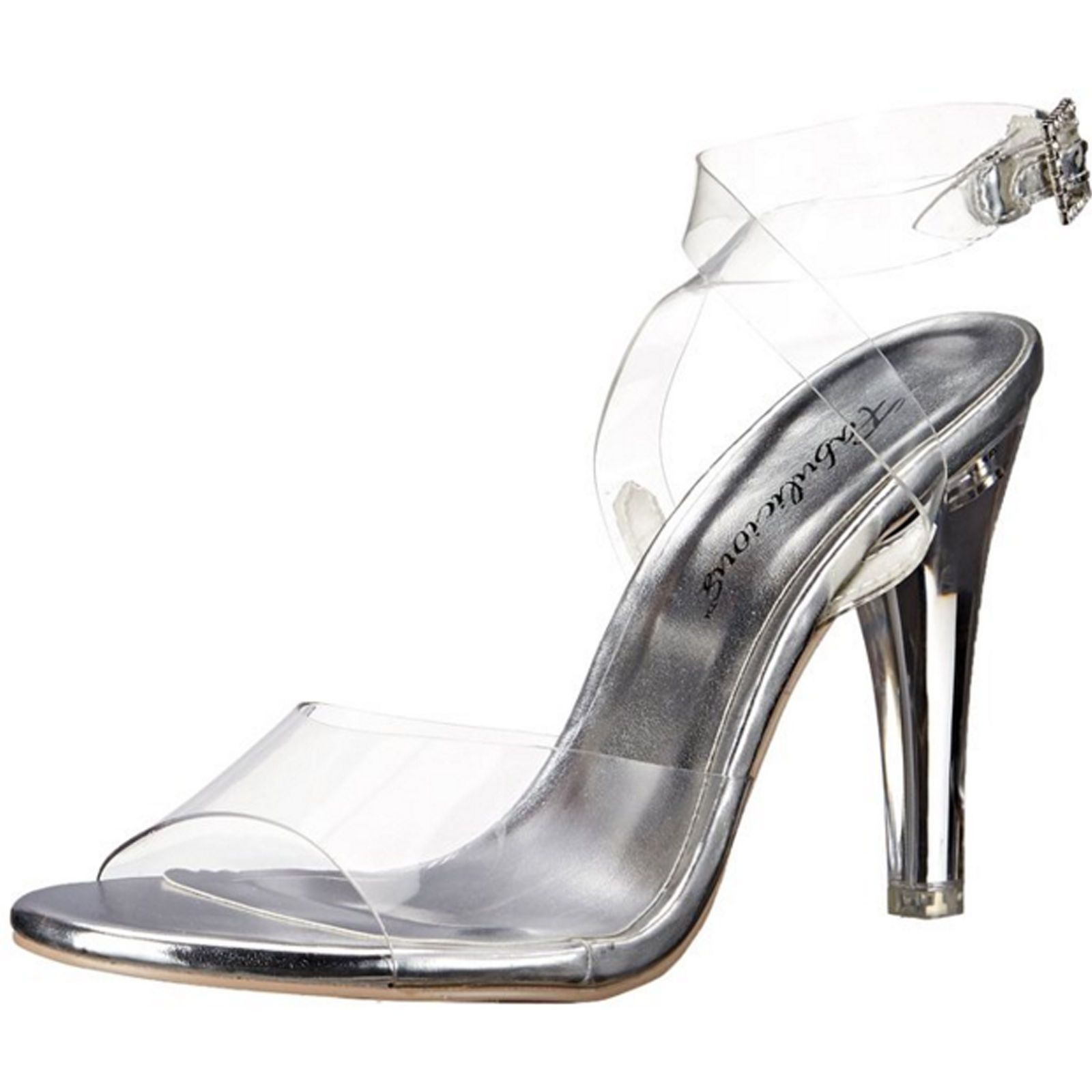 Fabulicious Clearly 406 Ankle Strap (Women's) 3IBjDDlA