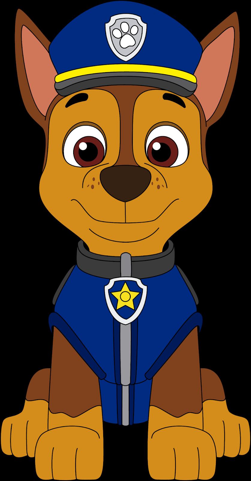 Paw Patrol Chase Clipart Paw Patrol Cartoon Paw Patrol Coloring Paw Patrol Birthday