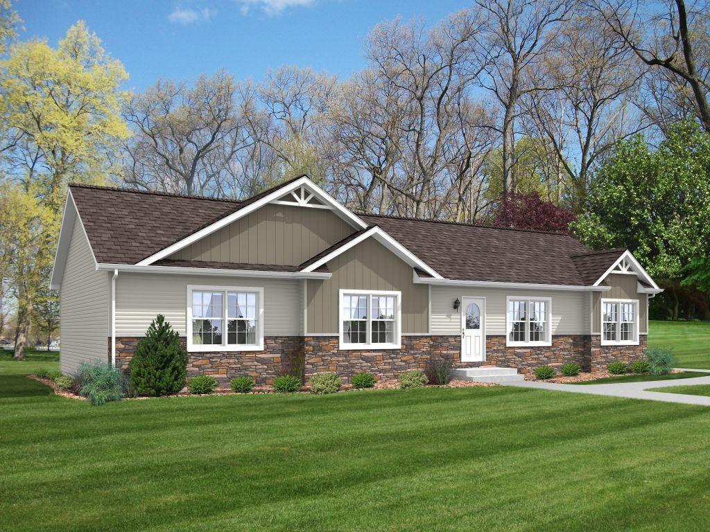 Littimere Rb611a Rockbridge Modular Homes Ranch House Plans Ranch House Modular Homes