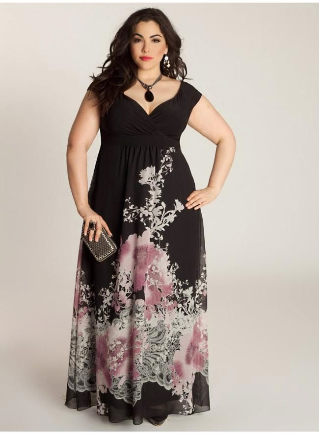 bb682c2ce67 Long Maxi Dresses Styles For Larger Size Ladies 2015. Look Fabulous in Plus  Size Bohemian Clothing ...