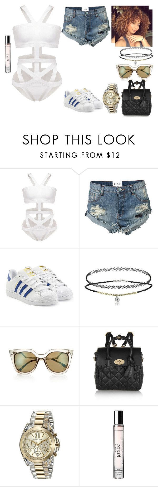 """""""Daddy made me fight it wasn't always right but he said girl it's your second amendment, oh, oh, oh, he always played it cool but daddy was no fool. #567"""" by stay-strong-18 ❤ liked on Polyvore featuring One Teaspoon, adidas Originals, Fendi, Mulberry, Michael Kors and philosophy"""