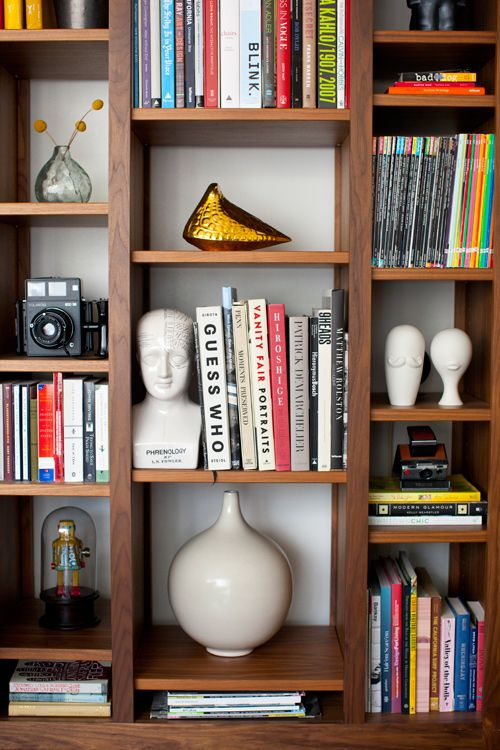 Book Shelf // Lou Mora & Sarah Yates via designsponge.