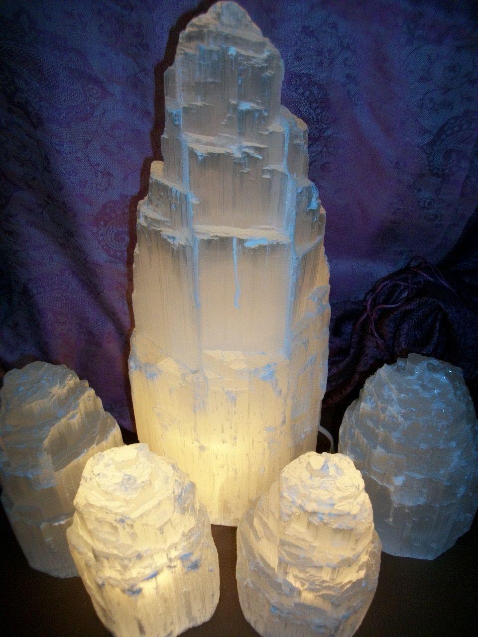 Extra Large Selenite Lamp