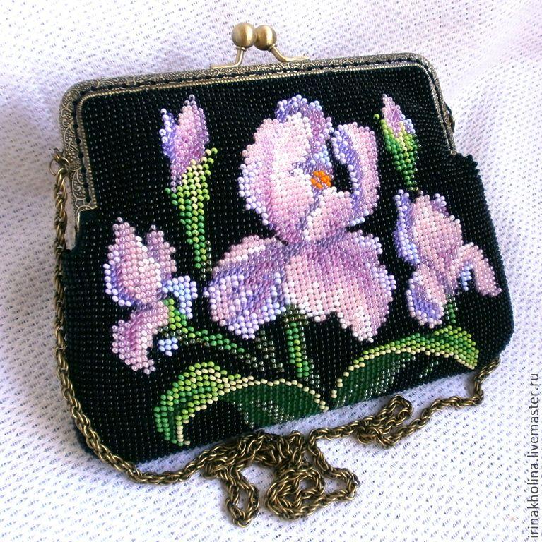Вышивка косметички бисером схемы