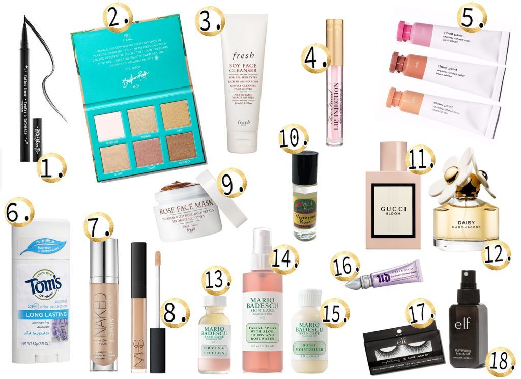 On the List: The Cosmetics and Beauty Products I use Every
