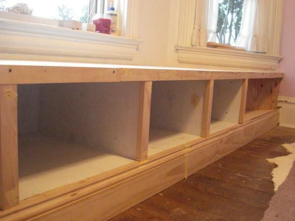 Window Seat Built In Do It Yourself Home Projects From